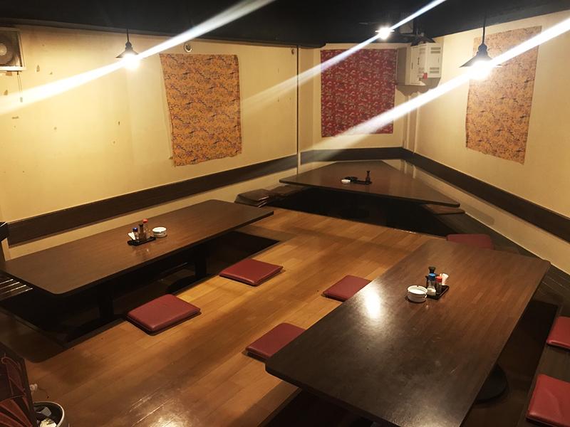 エリア:京都市西院、面積:30坪、状態:営業中